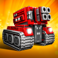 Blocky Cars - Online Shooting Game Game