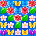 Butterfly Flower Free Match Game