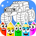 Coloring book : Transport Game