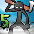 Anger of stick 5 : zombie Game
