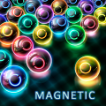 Magnetic balls: Neon Game