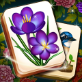 Mahjong Blossom Solitaire Game